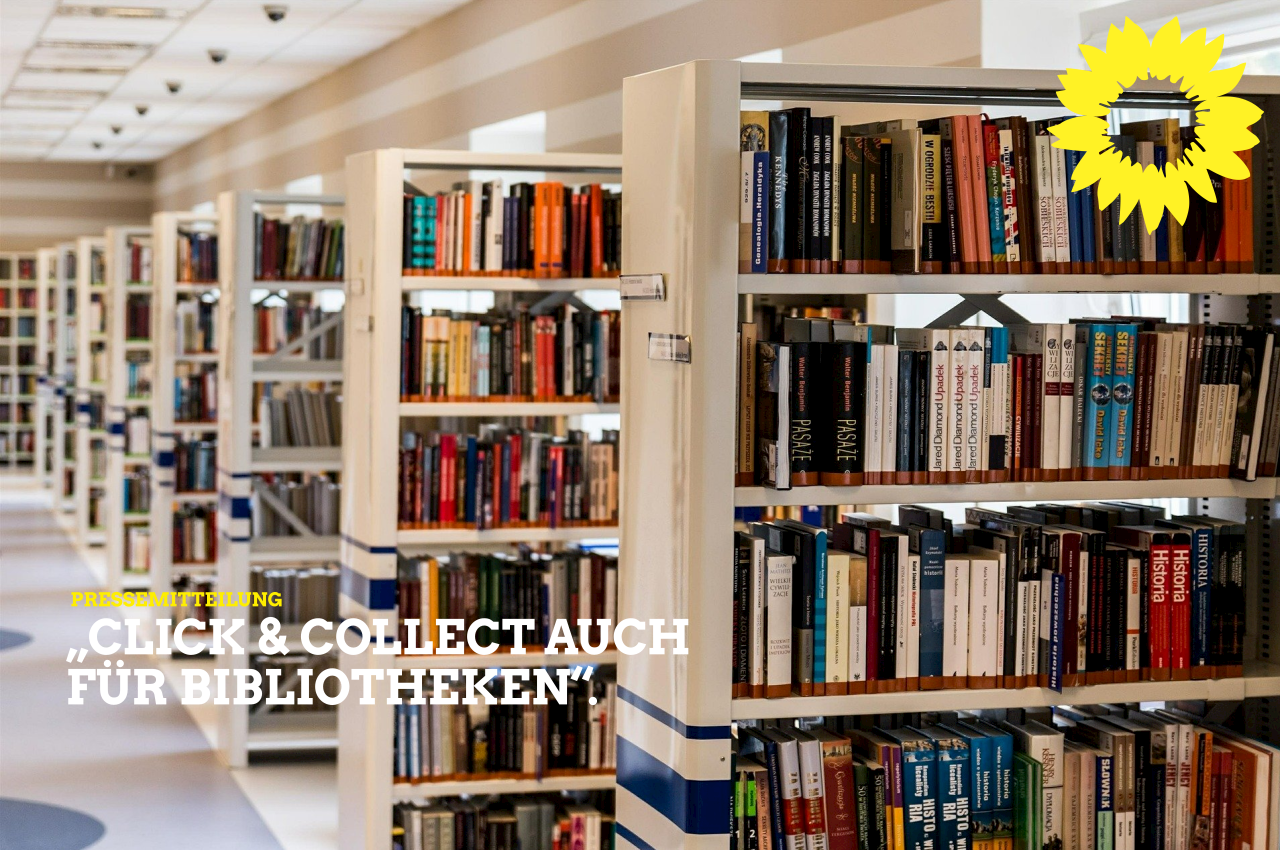 """Grüne Fraktion Würzburg will """"Click & Collect"""" auch für die öffentlichen Bibliotheken"""