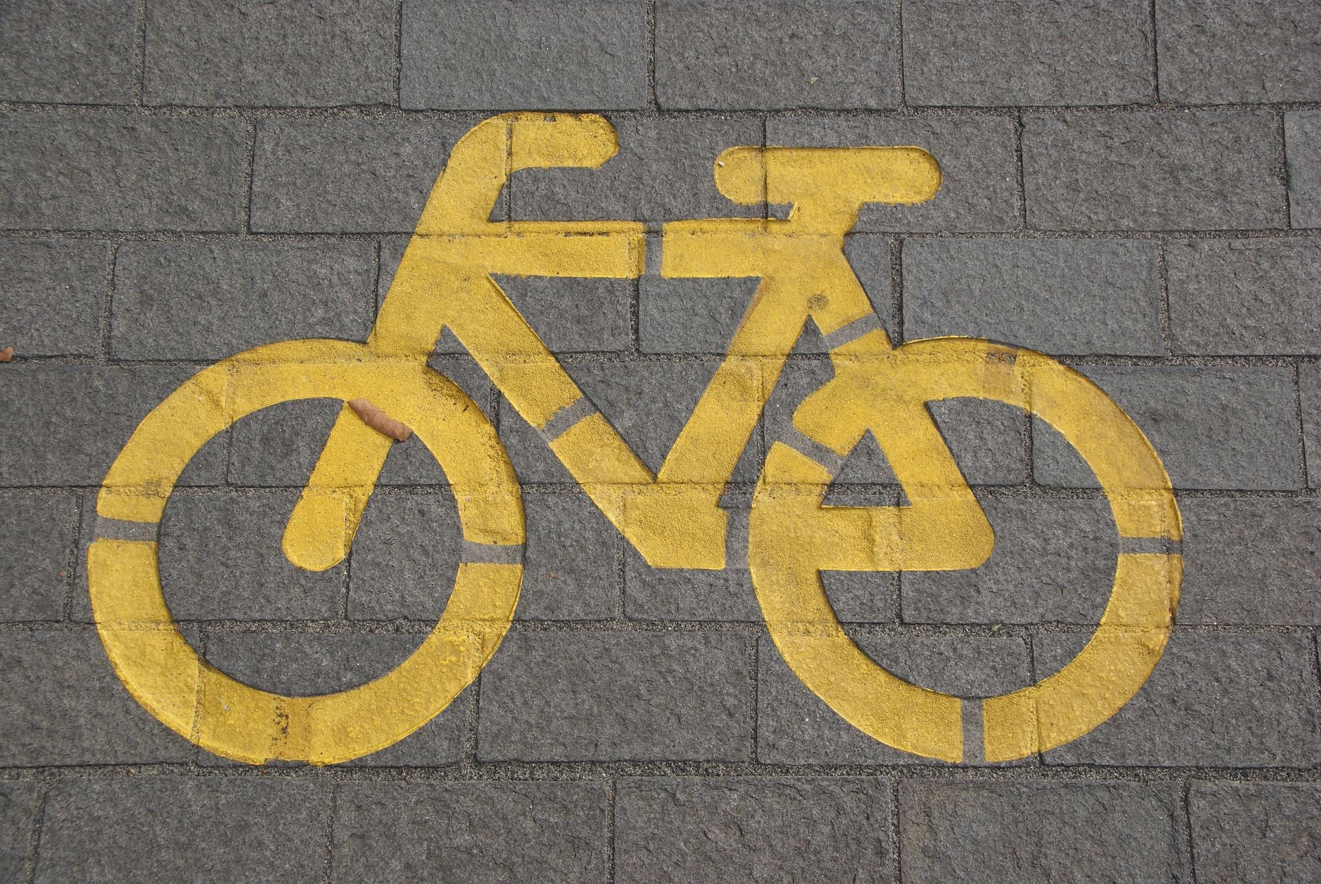 Zeichen für Radfahrer