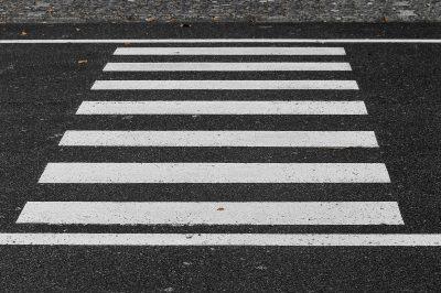 Zebrastreifen Überweg
