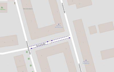Mögliche Verkehrsberuhigung in der Brunostraße
